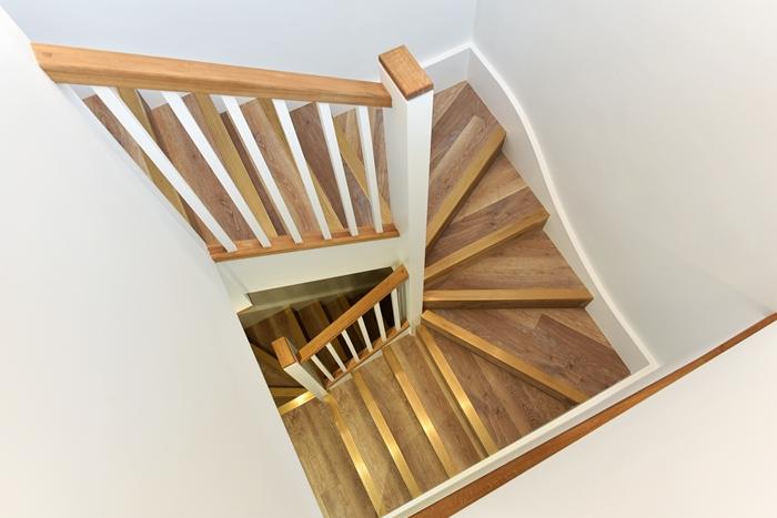 Stairs at 42 James Street Apartments, Marylebone, London - Citybase Apartments