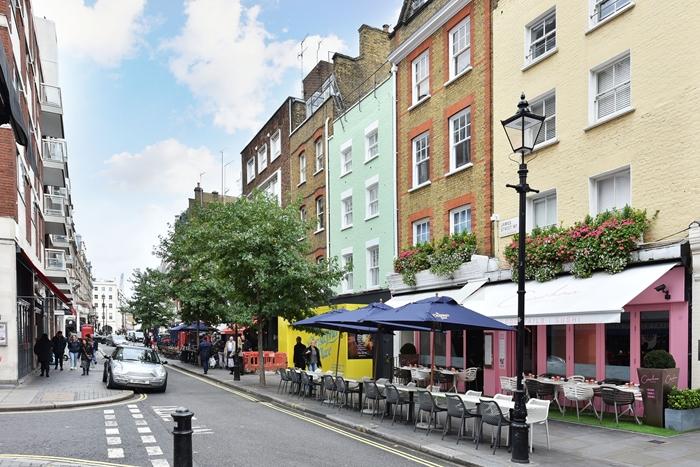 Exterior at 42 James Street Apartments, Marylebone, London - Citybase Apartments