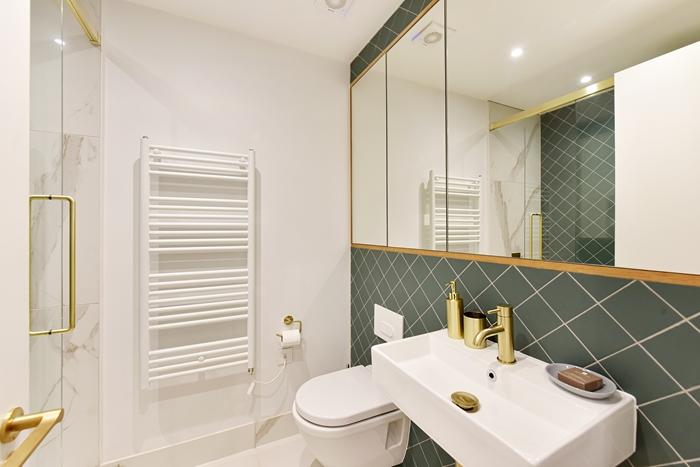 Sink at 42 James Street Apartments, Marylebone, London - Citybase Apartments
