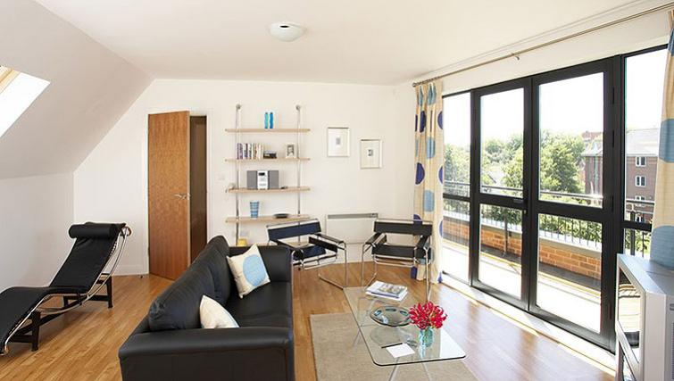 Livign space at SACO Derby - The Millhouse - Citybase Apartments