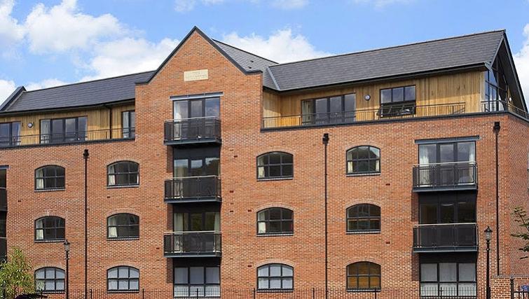 Timeless exterior of SACO Derby - The Millhouse - Citybase Apartments