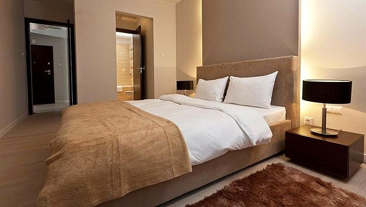 Comfortable bedroom in Platinum Residence - Citybase Apartments