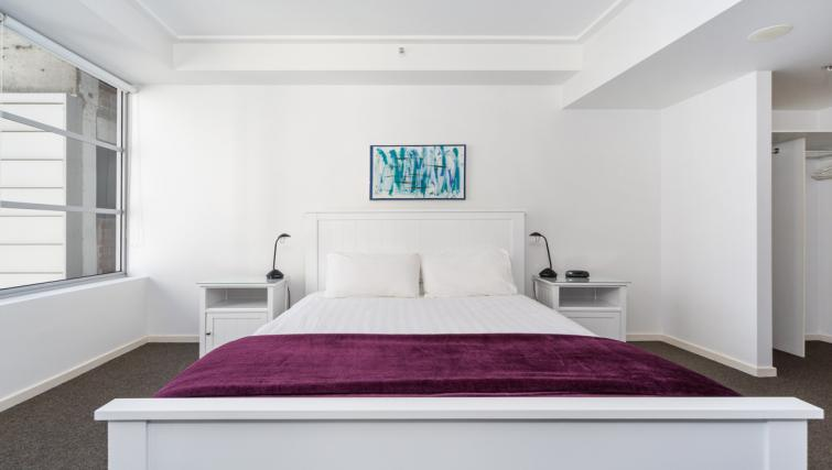 Bed at Astra Apartments Sydney CBD Rex - Citybase Apartments