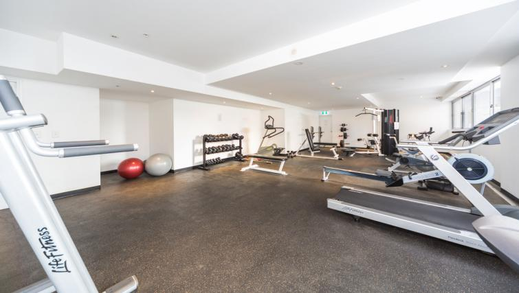 Gym at Astra Apartments Sydney CBD Rex - Citybase Apartments