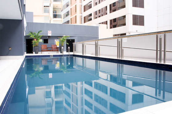 Pool at Astra Apartments Sydney CBD Rex - Citybase Apartments