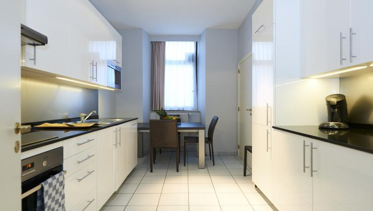 Modern kitchen at Thon Residence Florence - Citybase Apartments