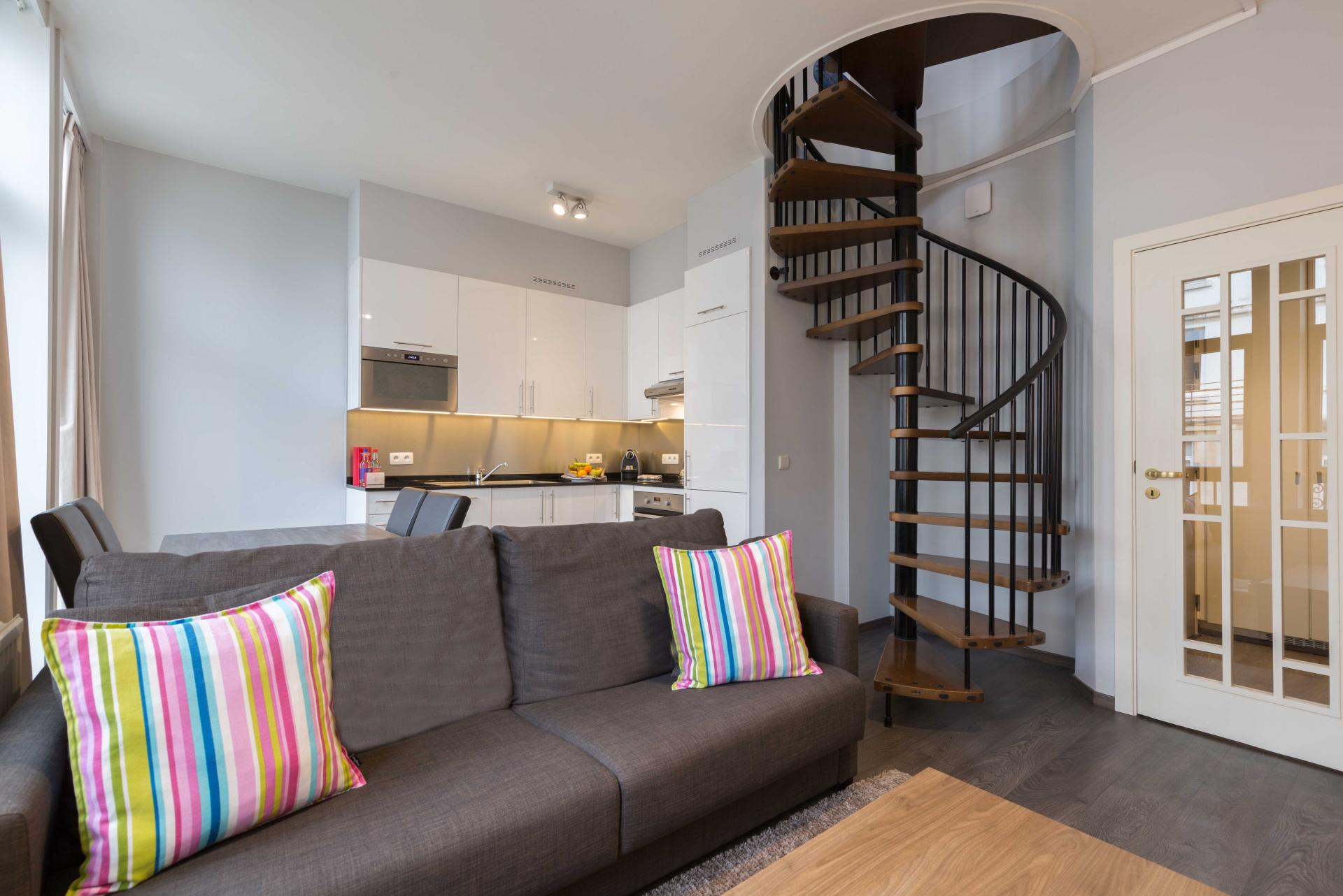 Stairs at Thon Residence Florence - Citybase Apartments