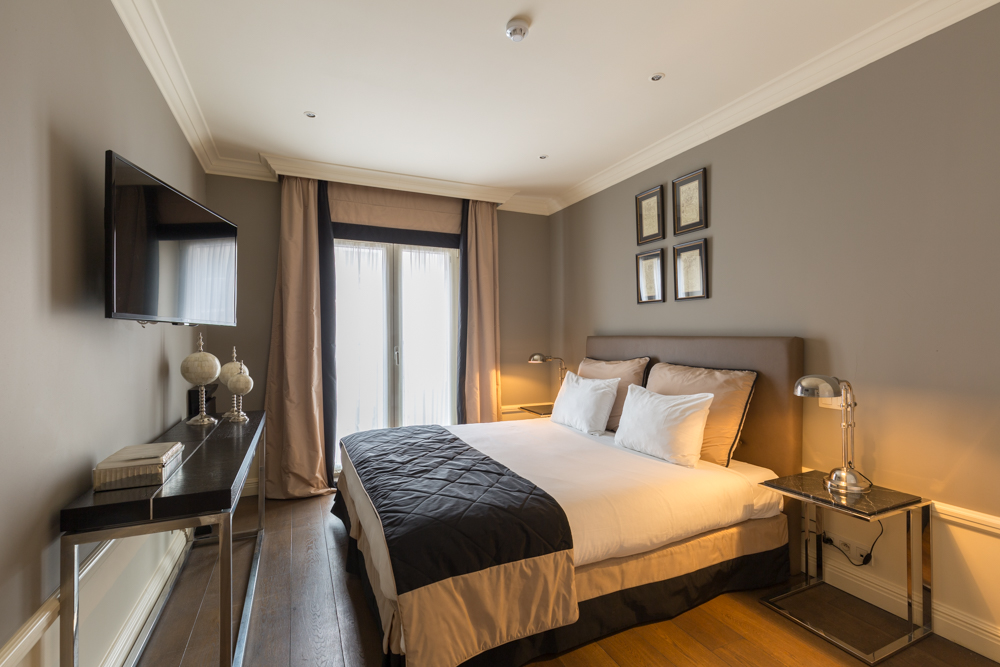 Bedroom at Stanhope Residence Apartments - Citybase Apartments