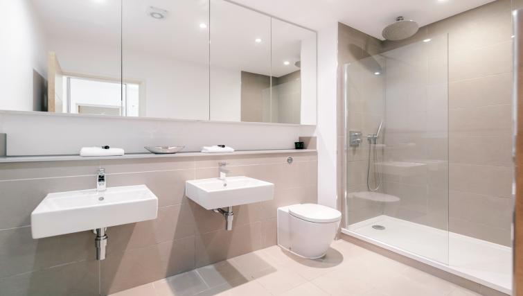 Bathroom at The Residence Apartments - Citybase Apartments