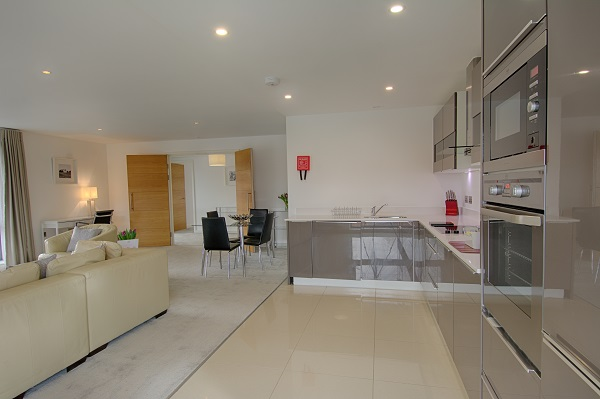 Kitchen at The Residence Apartments - Citybase Apartments