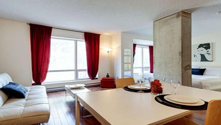 Stylish living area in Le 1009 Apartments - Citybase Apartments
