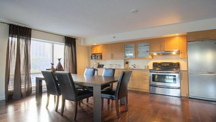 Spacious kitchen in Le 1009 Apartments - Citybase Apartments
