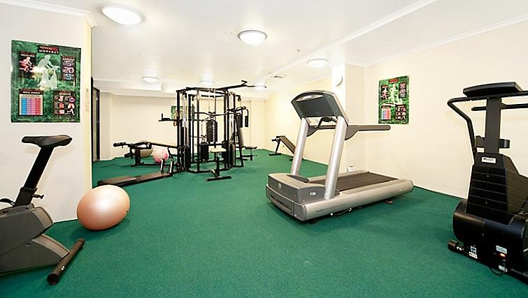 Equipped gym in Astra Sydney CBD Windsor on Kent - Citybase Apartments