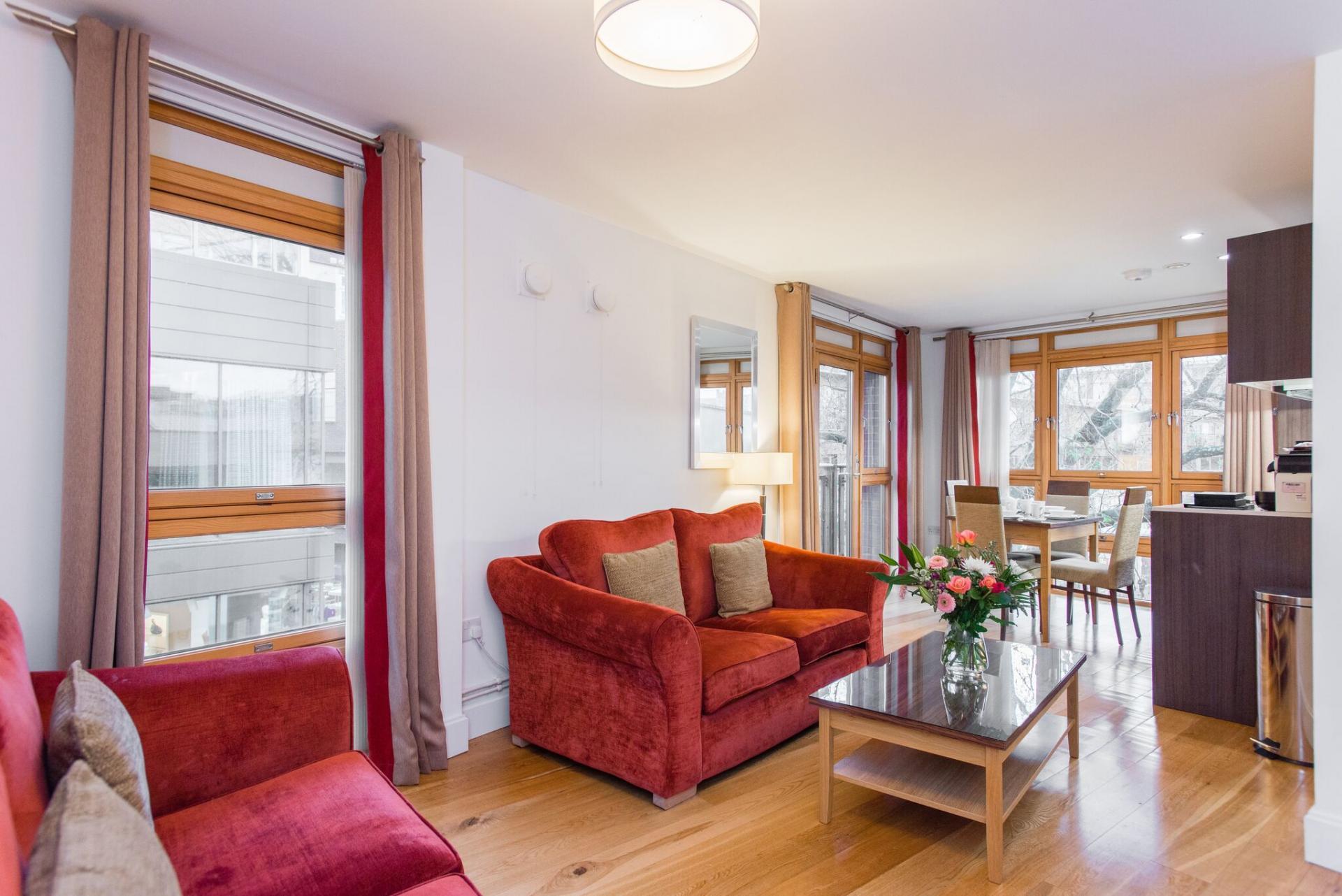 Lounge at Premier Suites Plus Cabot Circus - Citybase Apartments