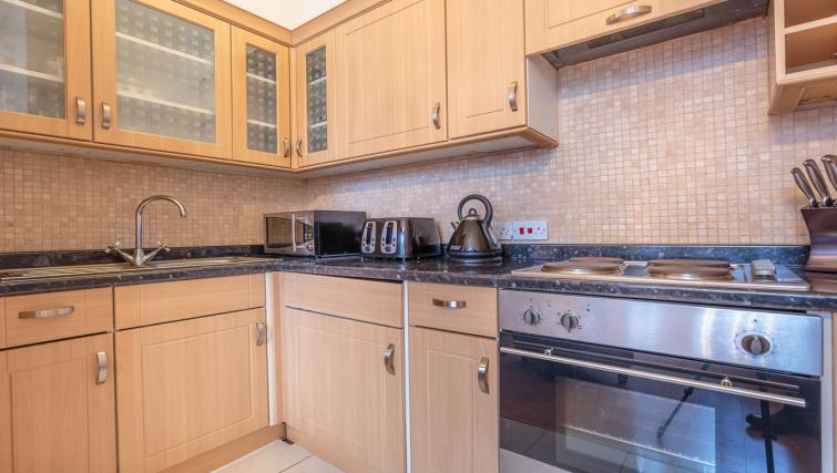 Fully equipped kitchen at Castletown House - Citybase Apartments