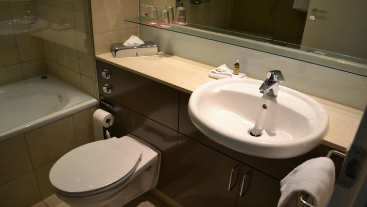 Desirable bathroom at Adina Apartment Hotel Copenhagen - Citybase Apartments