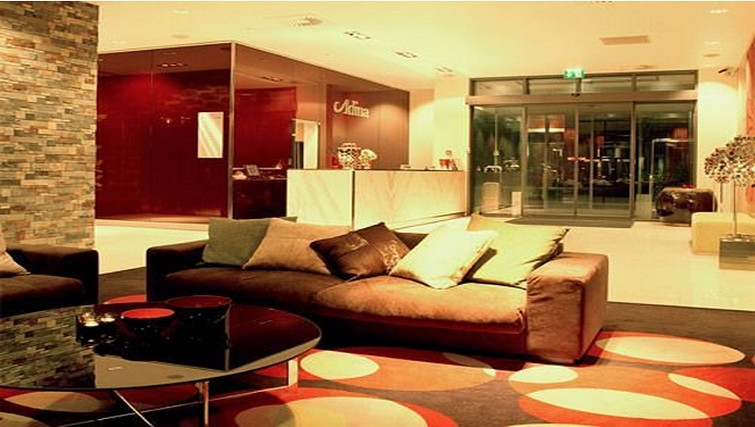 Welcoming lobby at Adina Apartment Hotel Copenhagen - Citybase Apartments