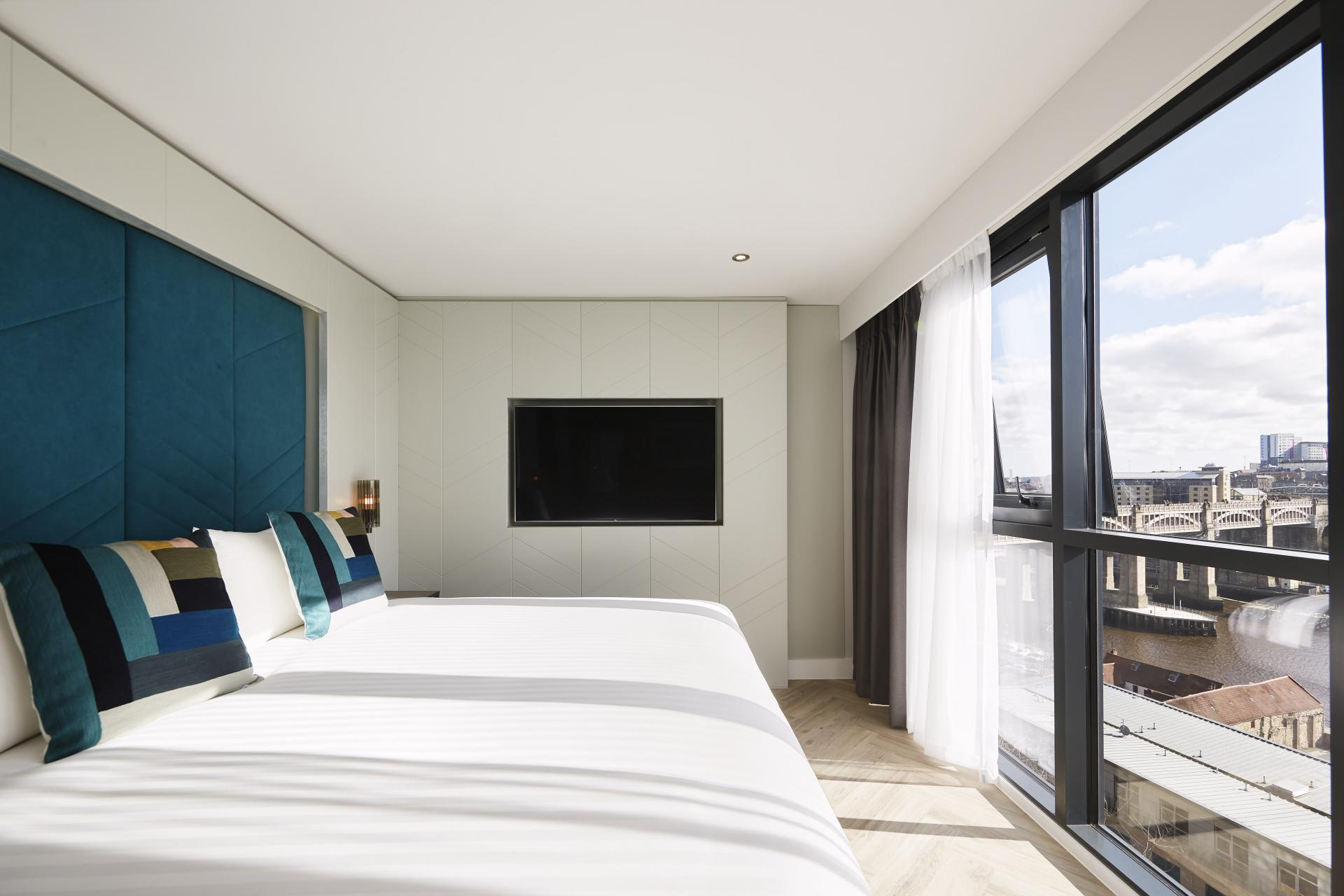 Amazing views at Roomzzz Newcastle City Apartments - Citybase Apartments