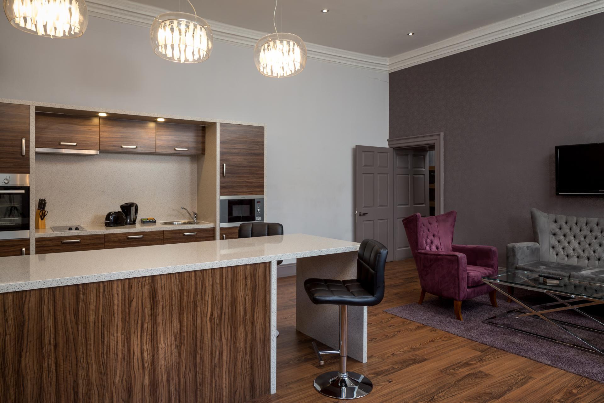 Breakfast bar at Roomzzz Newcastle City Apartments - Citybase Apartments