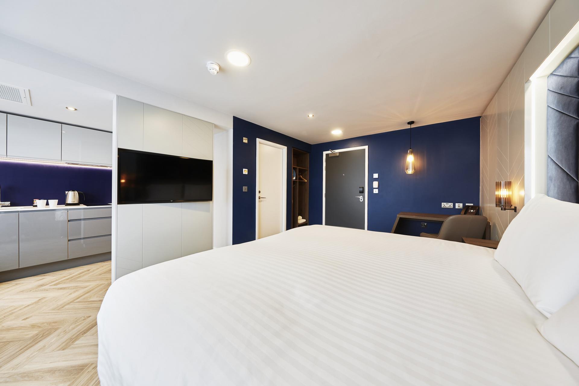 Fresh linen at Roomzzz Newcastle City Apartments - Citybase Apartments