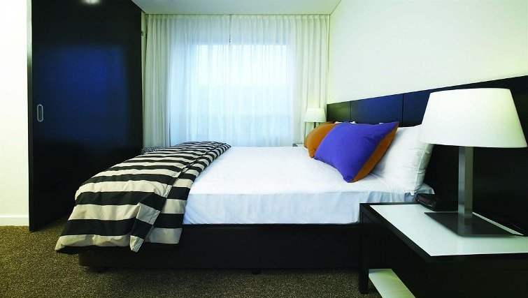 Comfortable bedroom in Adina Apartment Hotel Perth - Citybase Apartments