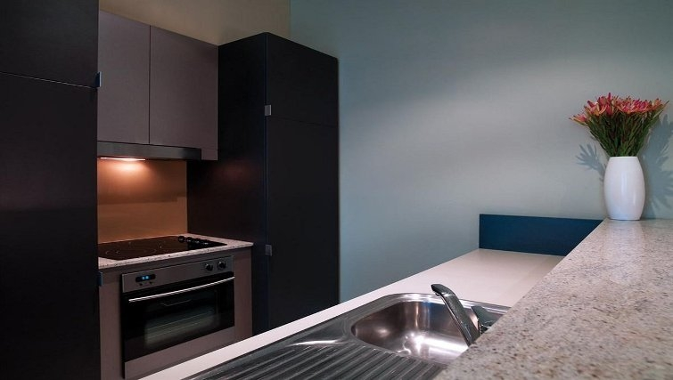 Stunning kitchen in Adina Apartment Hotel Adelaide Treasury - Citybase Apartments