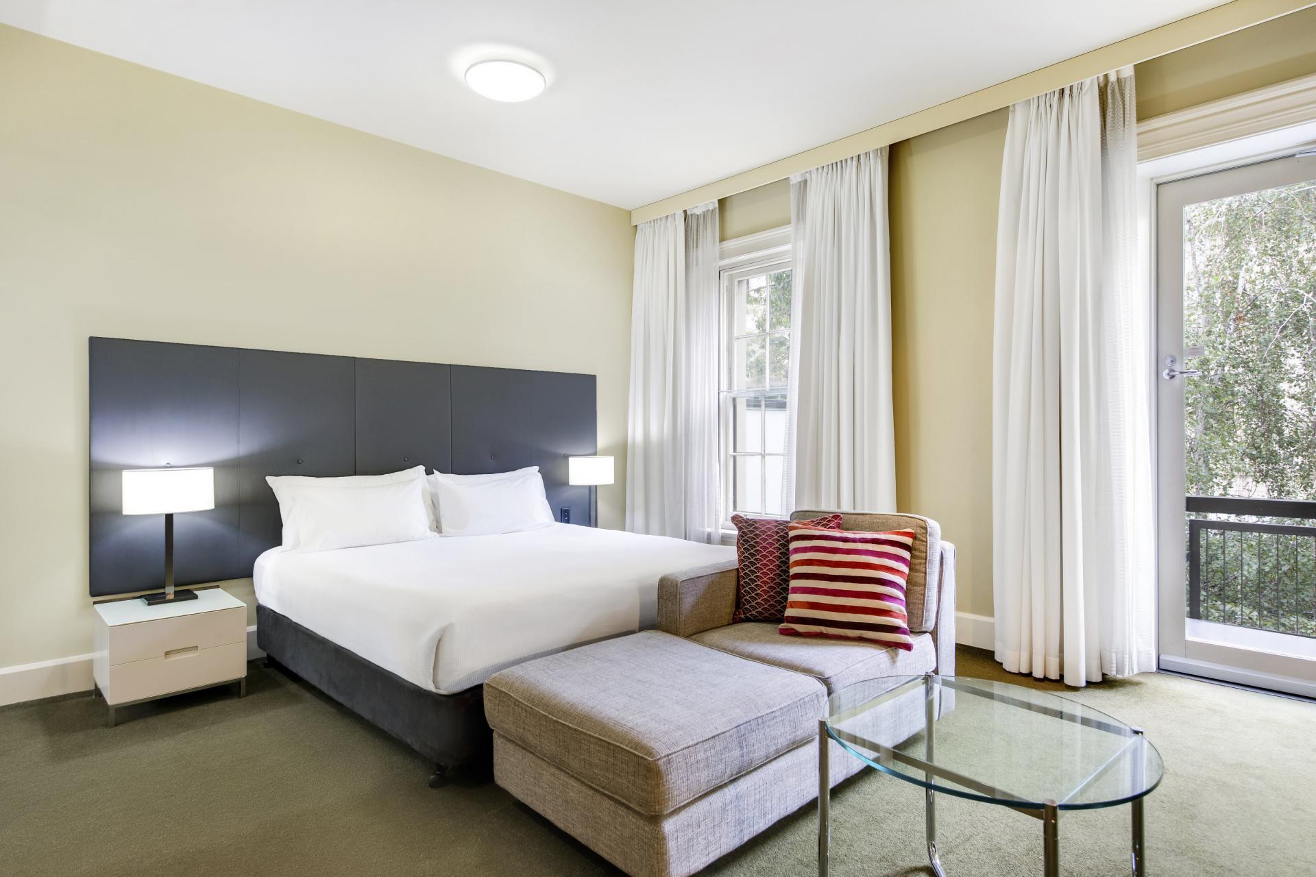 Bedroom at Adina Apartment Hotel Adelaide Treasury, Centre, Adelaide - Citybase Apartments
