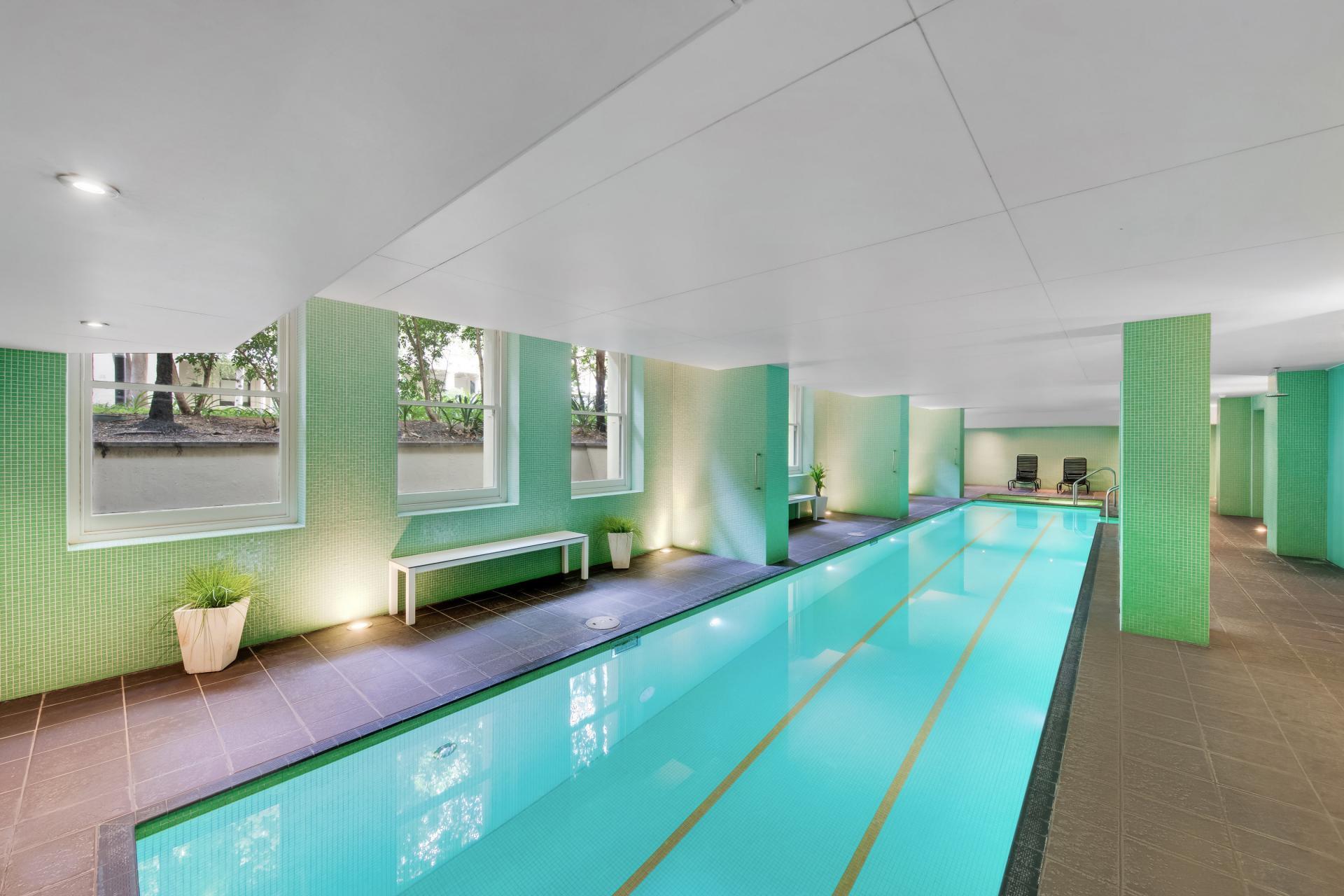 Pool at Adina Apartment Hotel Adelaide Treasury, Centre, Adelaide - Citybase Apartments