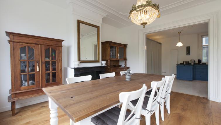 Spacious dining area at Marite Apartments, Amsterdam - Citybase Apartments