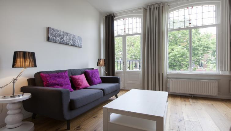 Living area at Marite Apartments, Amsterdam - Citybase Apartments