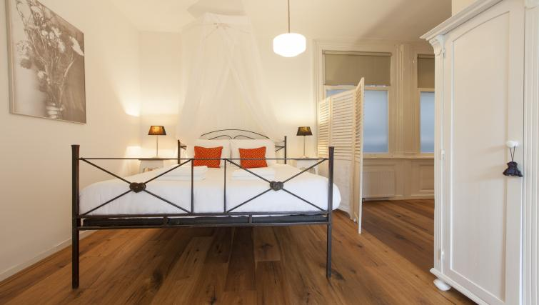 Bedroom at Marite Apartments, Amsterdam - Citybase Apartments