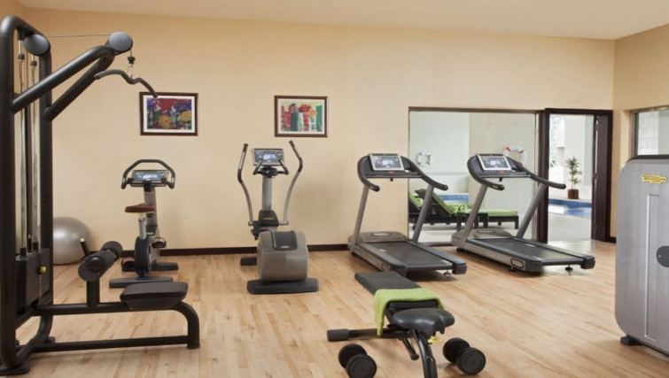 Equipped gym in Hyatt Residence Doha West Bay - Citybase Apartments