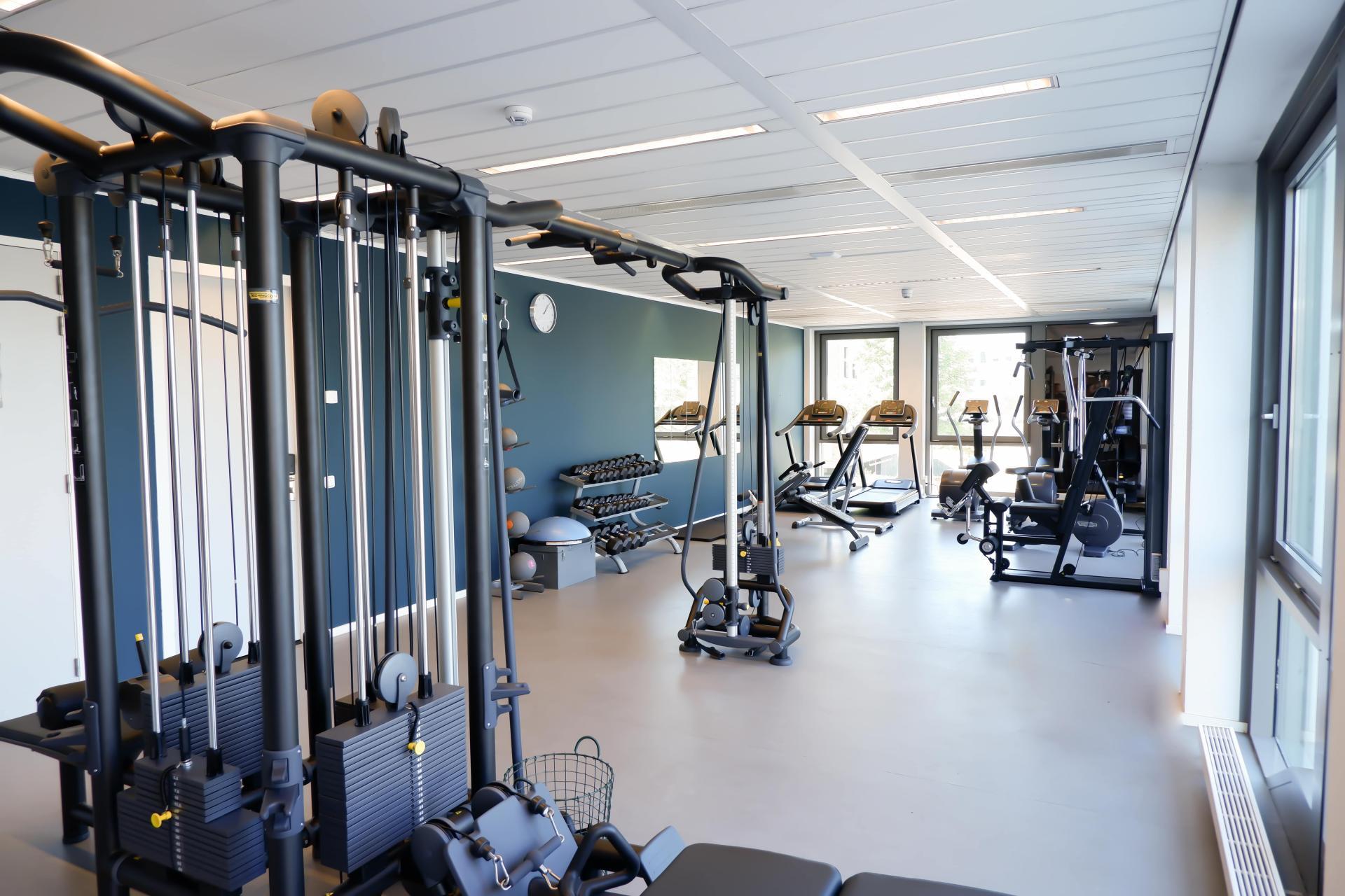 Gym at Amsterdam ID Aparthotel, Sloterdijk, Amsterdam - Citybase Apartments