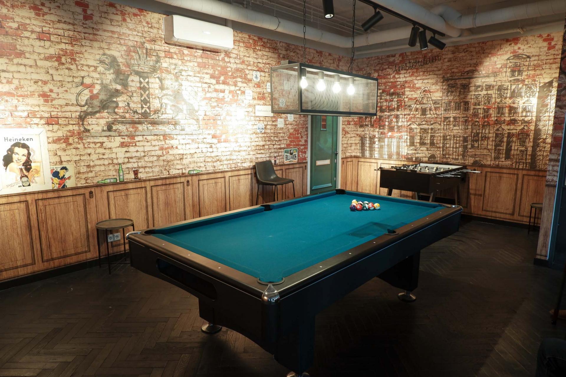 Games room at Amsterdam ID Aparthotel, Sloterdijk, Amsterdam - Citybase Apartments