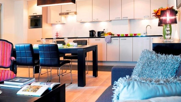 Kitchen at Thon Residence EUThon Residence EU - Citybase Apartments
