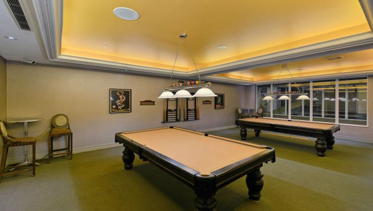 Billiards room at Forest Vista Apartments - Citybase Apartments