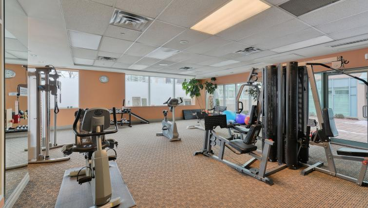 Fitness centre at Forest Vista Apartments - Citybase Apartments
