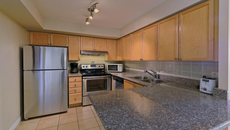 Kitchen at Forest Vista Apartments - Citybase Apartments