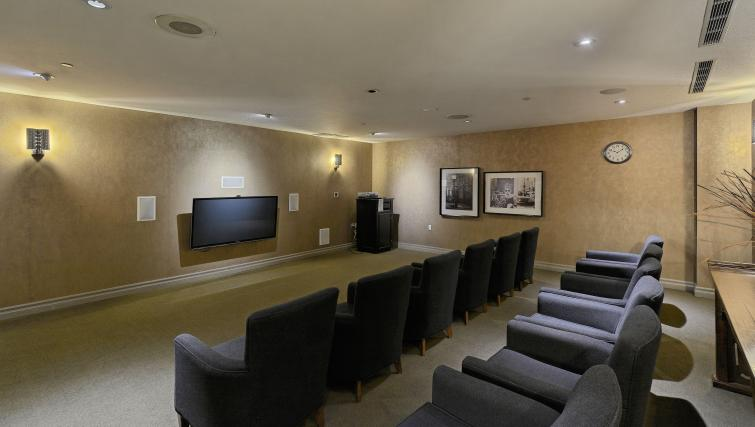 Theatre room at Forest Vista Apartments - Citybase Apartments