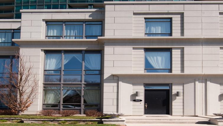 Exterior of Meridian Apartments - Citybase Apartments