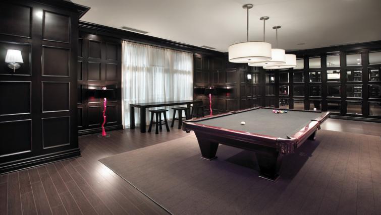 Billards room at Meridian Apartments - Citybase Apartments