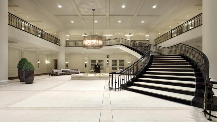 Lobby at Meridian Apartments - Citybase Apartments