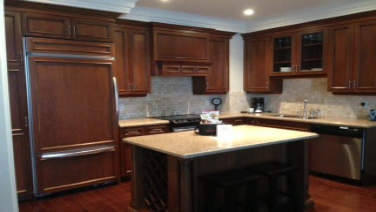 Kitchen at Meridian Apartments - Citybase Apartments