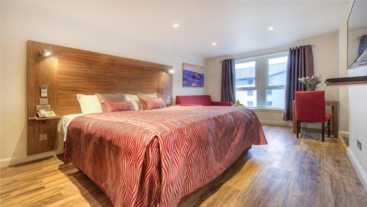 Bed at Holyrood Aparthotel - Citybase Apartments