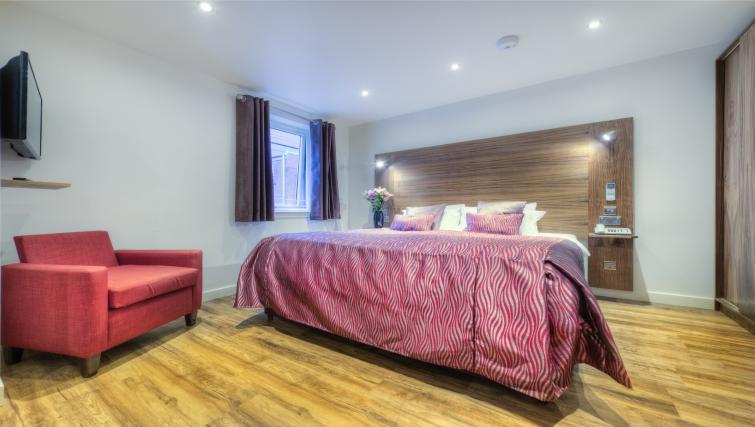 Bedroom at Holyrood Aparthotel - Citybase Apartments