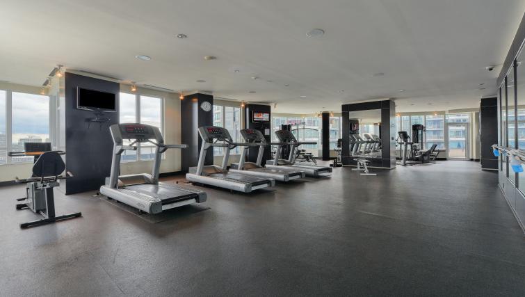 Gym at Element Apartments - Citybase Apartments