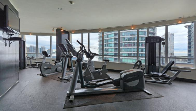 Fitness at Element Apartments - Citybase Apartments