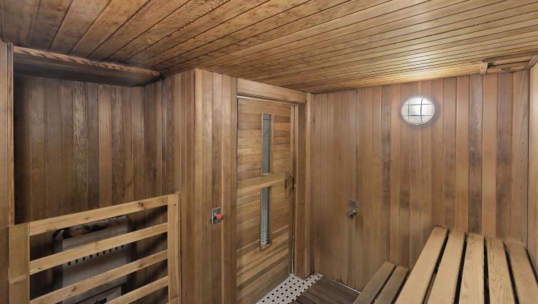 Sauna at Element Apartments - Citybase Apartments