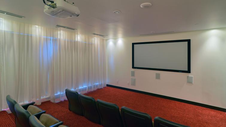 Theatre room at Element Apartments - Citybase Apartments