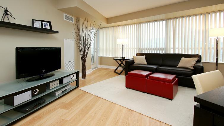 Sofa at Element Apartments - Citybase Apartments